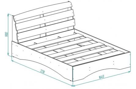 Изображение Кровать КР 9 (В наличии)  - 1