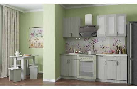 Изображение Кухня Легенда 22 эконом ЛДСП (1,5) (В наличии) - 0