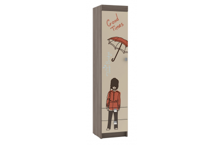 Изображение Пенал для детской с ящиками