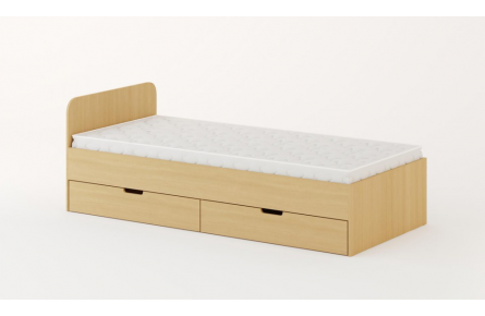 Изображение Кровать с ящиками 1200 (без матраца) - 1