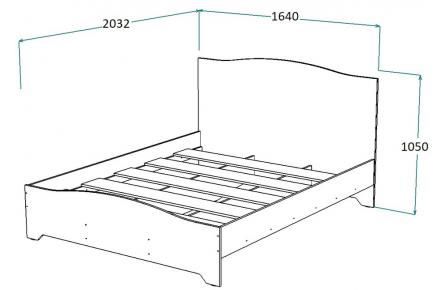 Изображение Кровать КР-30