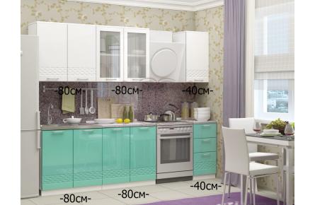 Изображение Кухня МДФ Волна (В наличии) - 2