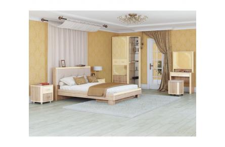 Изображение Кровать Оливия МОД № 2.2 (1,6 м.) (В наличии) - 2