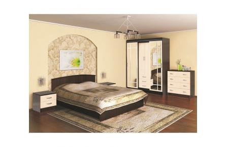 Изображение Кровать (1,2) КЭТ-1 АРТ.032 с низким щитом (В наличии) - 0