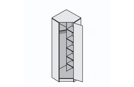 Изображение Шкаф угловой Иннэс-2 (В наличии) - 1