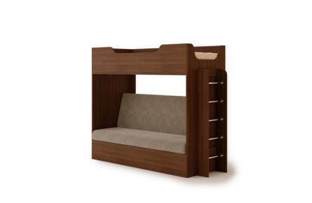 Изображение Кровать двухъярусная с диваном  - 1
