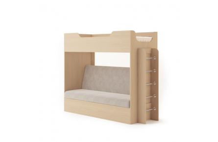 Изображение Кровать двухъярусная с диваном  - 2