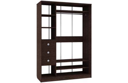 Изображение Шкаф 2 (AL) 1600х600 (Фасады Зеркало) - 2