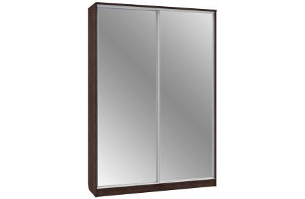 Изображение Шкаф 2 (AL) 1600х450 (Фасады зеркало) - 2