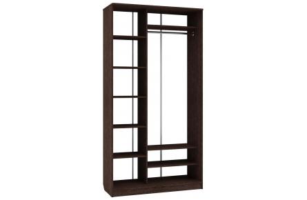 Изображение Шкаф 2 (AL) 1200х450 (Фасады зеркало) - 3