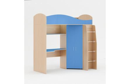 Изображение Кровать чердак (без матраца) (В наличии) - 4