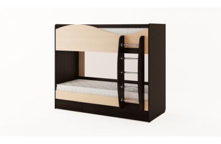 Изображение Кровать двухъярусная с ящиками (без матраца) (В наличии) - 0