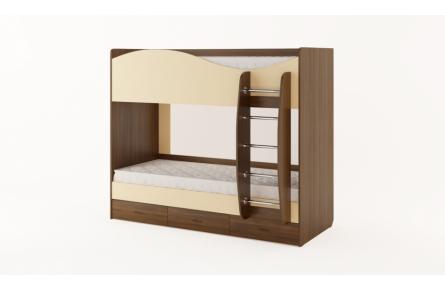 Изображение Кровать двухъярусная с ящиками (без матраца) (В наличии) - 3