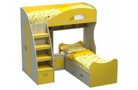 Изображение Кровать двухъярусная