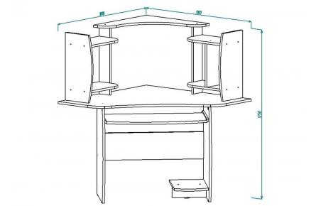 Изображение Стол компьютерный СК 4 (В наличии) - 1