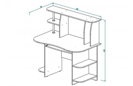 Изображение Стол компьютерный СК 5 (В наличии) - 1
