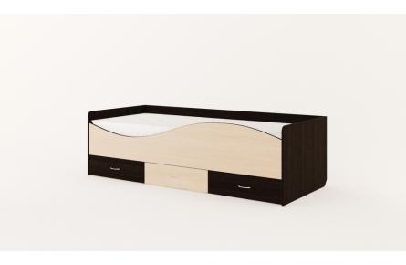Изображение Кровать детская с ящиками «Волна» (без матраца) - 1