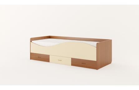 Изображение Кровать детская с ящиками «Волна» (без матраца) - 2