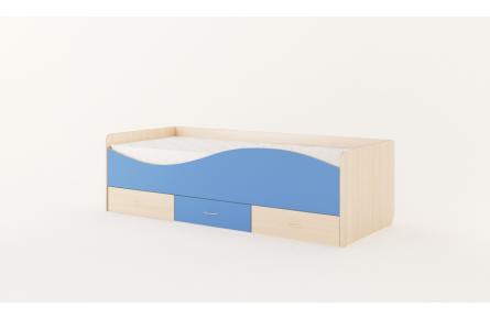 Изображение Кровать детская с ящиками «Волна» (без матраца) - 0