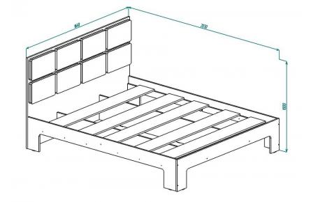 Изображение Кровать КР 12 (В Наличии) - 1