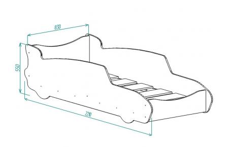 Изображение Кровать для детской КР7