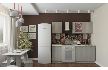 Изображение Кухня Легенда-16 (1,5) (В наличии) - 0